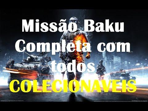 Battlefiled - missão Baku com todos colecionaveis