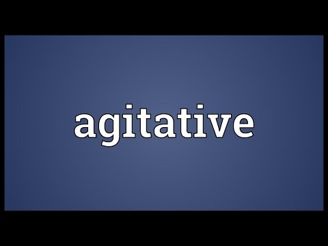 Header of Agitative