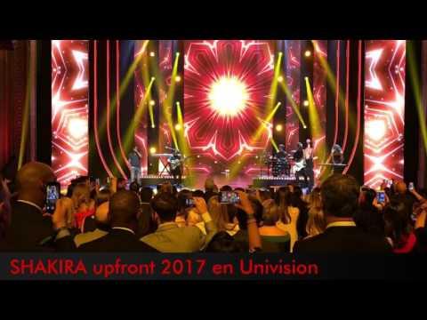 Shakira en Univision Upfront2017