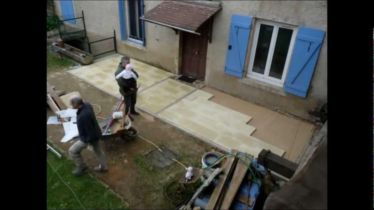 construire une terrasse mode d 39 emploi youtube