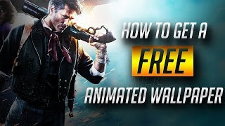HOW TO GET A FREE ANIMATED WALLPAPER!! - Windows 10/8/7