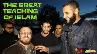 Video: Historically, Jews paid less Jizya (Tax) and lived better under Islamic rulership - Mohammed Hijab vs Jewish Nosan