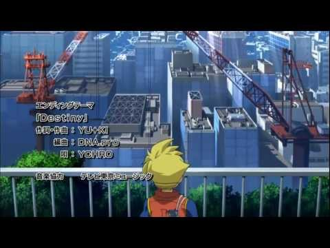Hd Metal Fight Beyblade 4d - Ending 5 (episode 154) video
