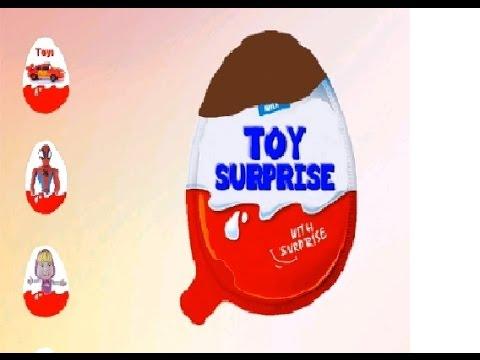 Открываем киндер сюрпризы Детский игровой мультик для детей!  surprise eggs 2