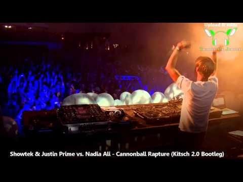 Showtek - Cannonball Rapture (& Justin Prime vs. Nadia Ali)