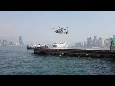 Camera Shutter Speed Matches Helicopter`s Rotor