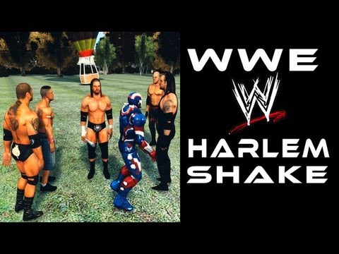 WWE HARLEM SHAKE Funny | The Undertaker, Triple H, Cena, Batista & Kane in GTA