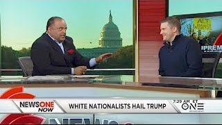 "White Nationalists-- ""We're Not Going Anywhere"""