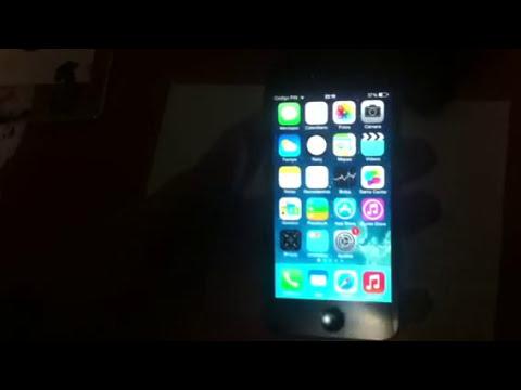 Saltar el bloqueo de icloud en  iPhone 5 2014