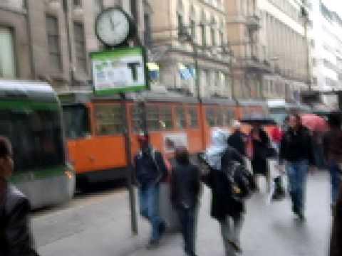 Milan Italy city center