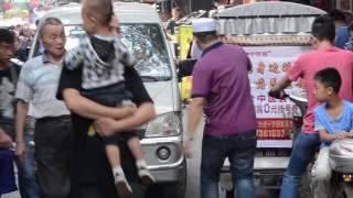 Muslim Street Food in Xian China