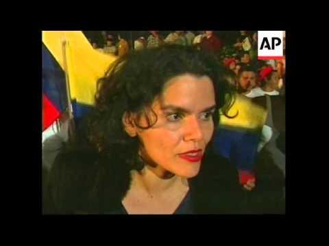 VENEZUELA: HUGO CHAVEZ ELECTED PRESIDENT