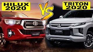 Hilux 2020 ⚡VS ⚡ L200 Triton 2020 - Qual você escolheria???