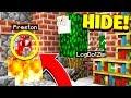 BEST HIDER EVER! - Morph Mod Hide & Seek - Minecraft Mods