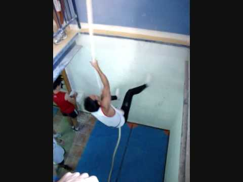 trepa de cuerda 7 metros david