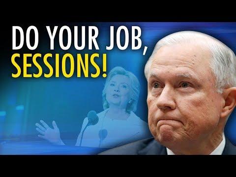 John Cardillo | Sessions must conduct Clinton Foundation inquiry himself