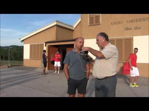 Le interviste del derby Camerino Pioraco. Il presidente Quadraroli e mister Palazzi