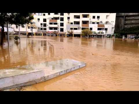 Flooding disaster in Albufeira - Portugal