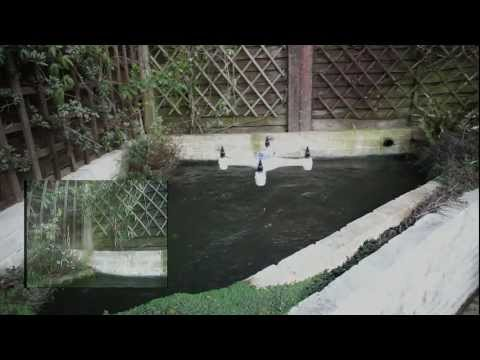 Fully waterproof Naza/GPS Aquacopter. A waterproof quadcopter built by
