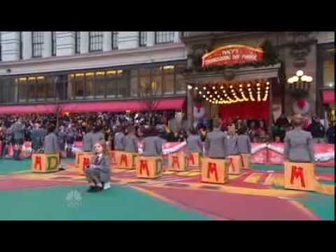 Matilda the Musical Medley at the Macys Thanksgiving Day Parade 2013