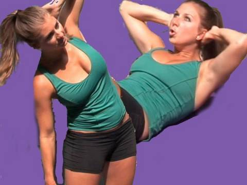 Lady Gaga Abs Workout - The Sarah Fit Show