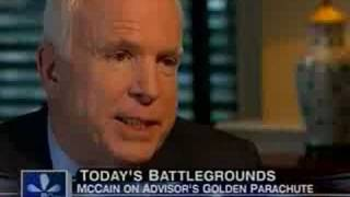 McCain Pleads Ignorance Of, Rails Against Golden Parachutes