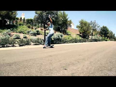 "Gravity Skateboards - Shane Hildalgo Carving Up The 36"" Bruce Logan"