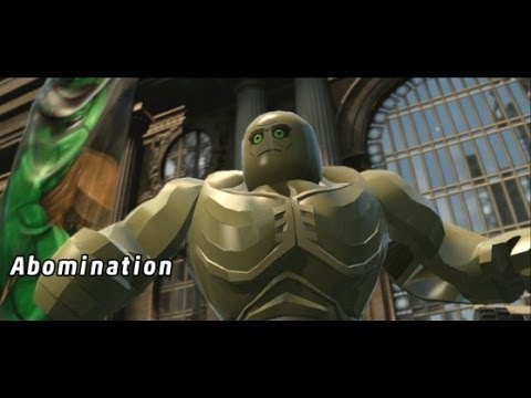 LEGO Marvel Super Heroes 100% Walkthrough Part 1 - Sand Central Station (Sandman Boss Fight)