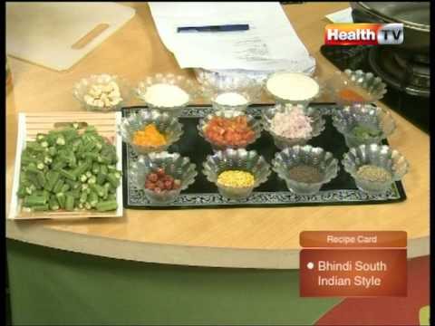 """Healthy Cooking"" Ep# Bhindi South Indian Style part-2 (08 March 12) Health TV.mpg"