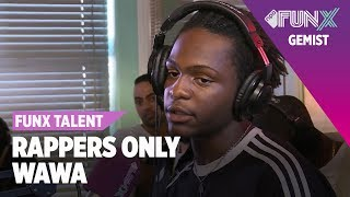WAWA rapt op DRIE BEATS | FunX Talent Rappers Only | Tweede Ronde