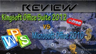 Episode 106 - Kingsoft Office Suite Free 2012 Review ( Office Replacement )