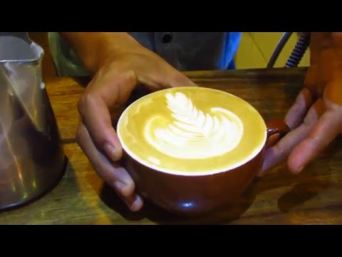 Late Art Barista by: Marlon (Mokka Coffee Cabana)