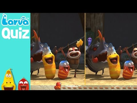 [Official] Spot the Difference 2 - LARVA QUIZ