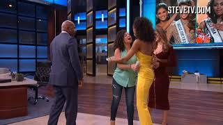 Harvey's Hundreds:  Surprise! It's Miss Universe & Miss USA