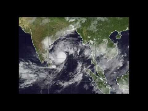 Cyclone Mahasen already bringing Rainfall : Westpacwx Update 13th May