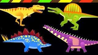 Dino Dana: T-Rex, Triceratops & Spinosaurus - Stegosaurus - Brachiosaurus   DCTE VN