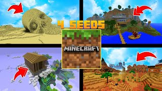 4 SEEDS SECRETAS DO MINECRAFT PE! (Pocket Edition)