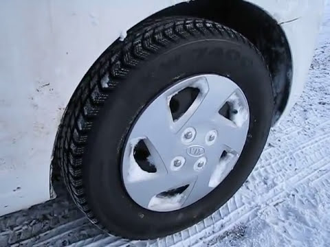 Effectiveness of Winter Tyres / Tires in the Frozen Britain