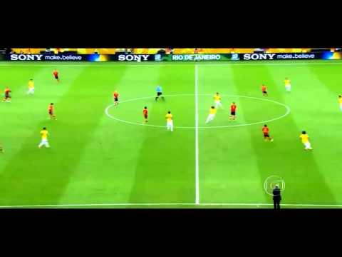 Thiago Silva   David Luiz Copa das Confederações 2013
