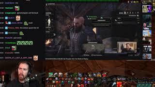 Asmongold Might Play Elder Scrolls Online!? Asmongold Watches Nixxiom's ESO Video