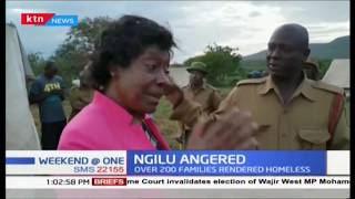 Ngilu Angered: Governor angered by eviction, sought to know why it was carried out ruthlessly