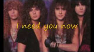 Watch Firehouse I Need You Now video