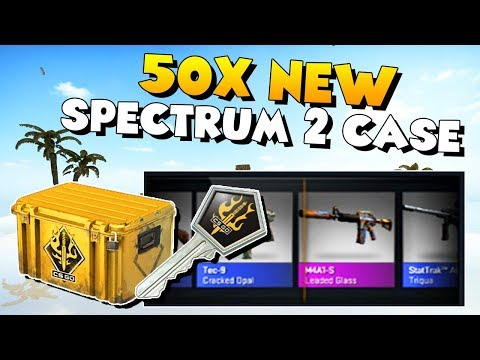 CS:GO - 50X NEW SPECTRUM 2 CASE OPENING!