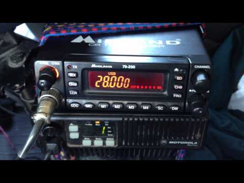 Midland 79-290 CB radio expanded to 10 Meters Amateur Radio