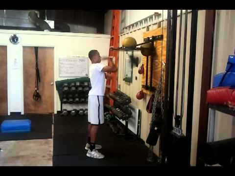 Wyatt Parker Speed Bag Training Image 1