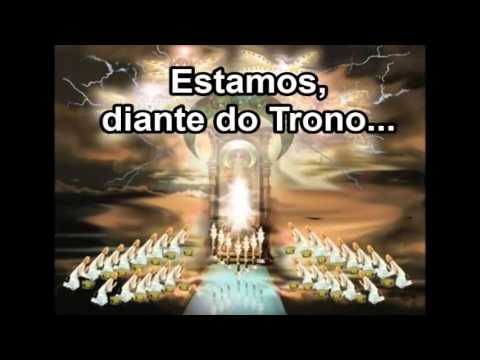 Estamos Diante do Trono - Débora Ivanov (Playback e Legendado)