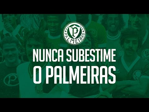 Nunca subestime o poder do Palmeiras
