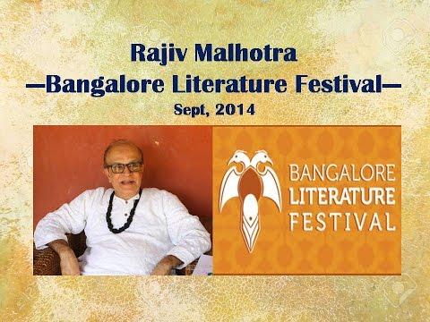 Rajiv Malhotra Panel Bangalore Literary Festival Sept, 2014