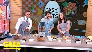 Chef Dan Churchill shows us tasty treats you can make in minutes | GMA
