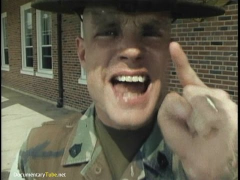 The Craziest Boot Camp Drill Sergeant (720p)